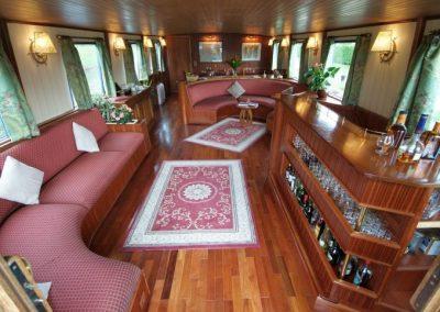 Barge interior