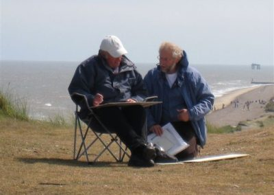 Windswept pair at Dunwich IMG_0783
